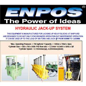 enpos hydraulic jack up system