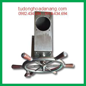 Bộ bọc pót lái cơ có đồng hồ hiện thị góc lái 2