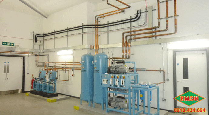 chọn đường ống khí nén